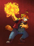 [Commission] Jaryl Fireball