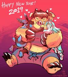 Sahne New Year! by raizy