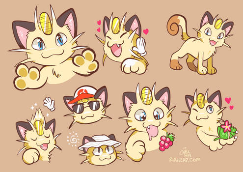 Let's Go Meowth