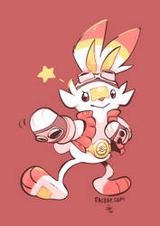 King Scorbunny by raizy