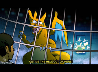 Detective Charizard in Trouble by raizy