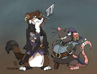 Bandits of Bluefort by raizy