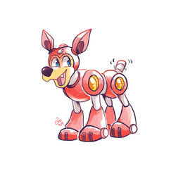 Rush the Robo Puppy