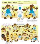 Rhea Snaketail reference sheet (2019)