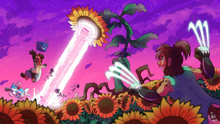 Sunflower Field Fight