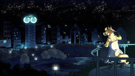 [Commission] Vera Overlooks the City