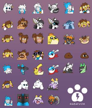 SD and JHD Emotes