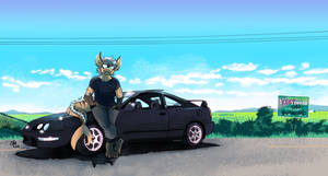[Commission] Khell and Car