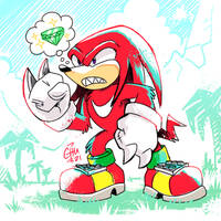 Knuckles Just Because