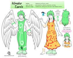 Kinako Tamis Reference Sheet 2021