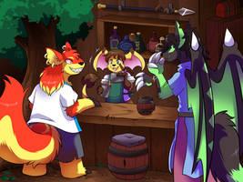 [Commission] Jannus the Bartender