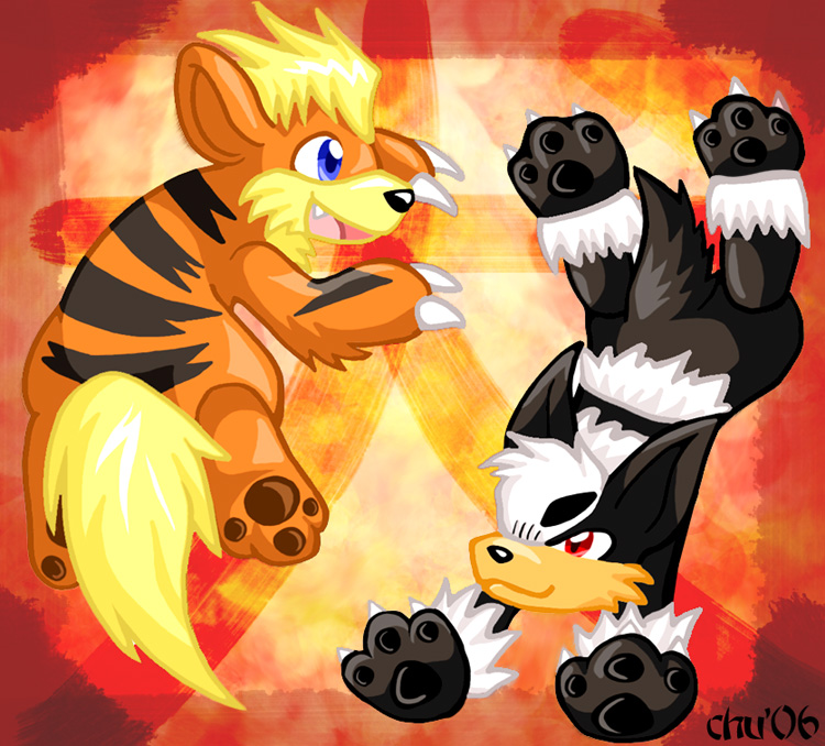 2006 - The Fire Dog Year by raizy on DeviantArt