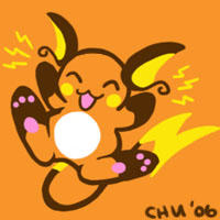 Tiny Raichu by raizy