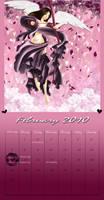 February Calendar 2010 by BossyGirl