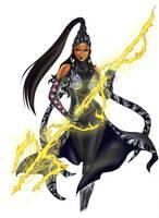 Celestial Warrior Goddess Devi by BossyGirl