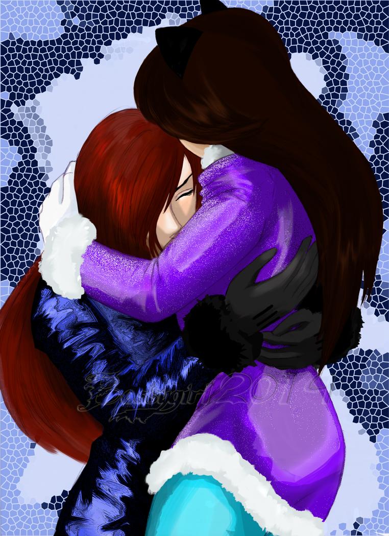 Winter  Hug by BossyGirl