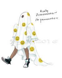 1. ghost - A smiley Boo for You