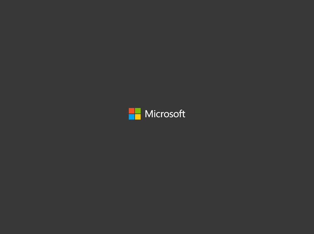 The REAL New Microsoft Logo Wallpaper by gifteddeviant