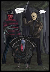 Freddy vs. Jason vs. Turkey by ZhouRules