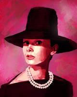Audrey Hepburn by ZhouRules