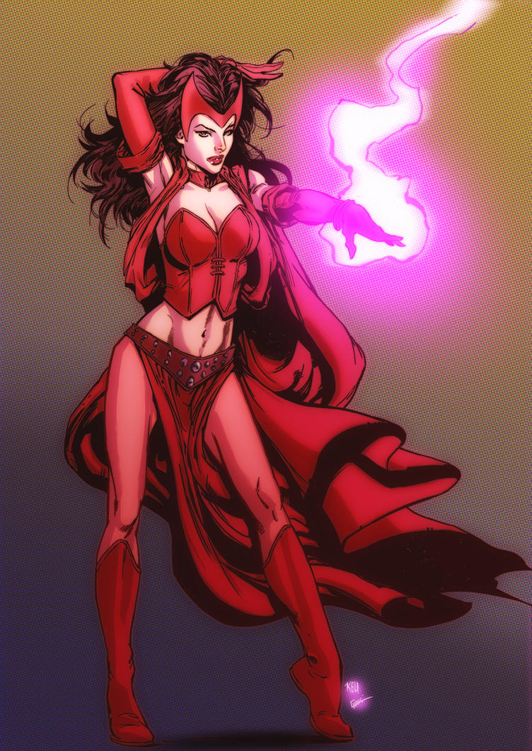 Scarlet Witch Colors by ZhouRules