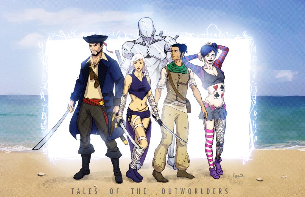 Outworlders Promo by ZhouRules