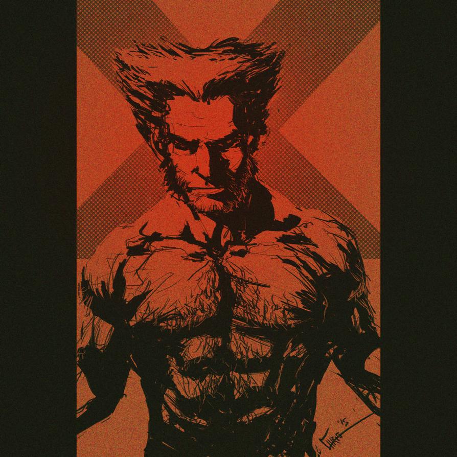 Wolverine Sketch by ZhouRules