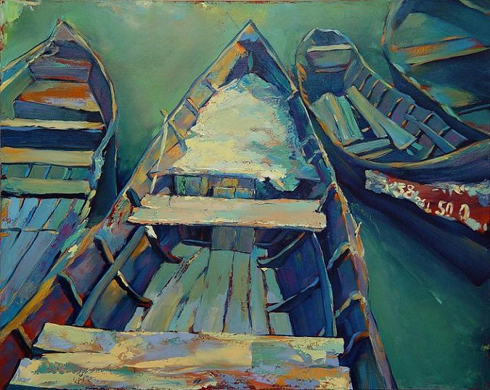 boats II vilcova by alinvarticeanu