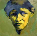 self-portrait by alinvarticeanu