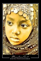 Nubian Face by M-AlJabarty
