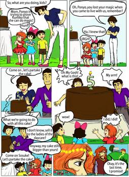 Ponyo's anniversary - Contest