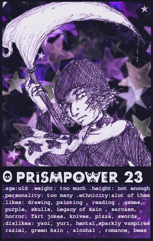 prismpower23's Profile Picture