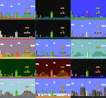SMM Complete SMB1 Themes (for Cansin13Art) by PixelMarioXP