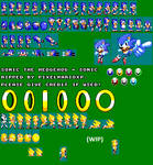 Sonic 1 - Game Gear Custom Sprites (Unfinished)
