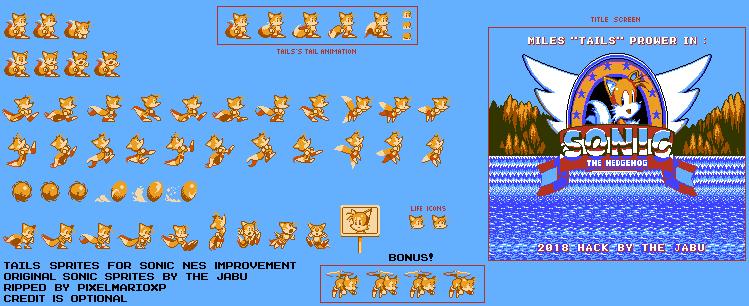 Sonic NES Improvement - Tails