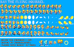 Sonic 1 SMS - Ray the Flying Squirrel