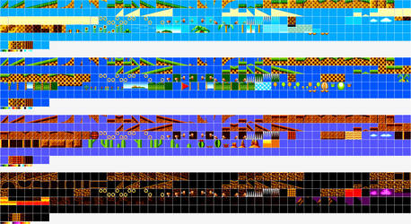 Sonic 3 SMS Tilesets (WIP)