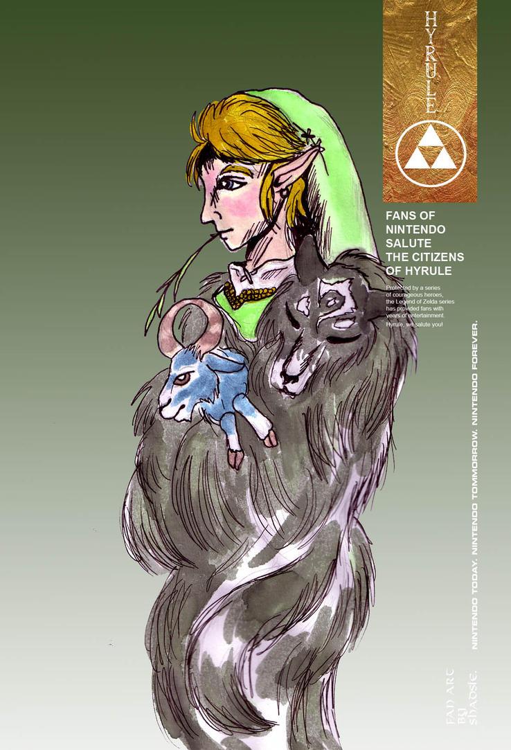 Heroes of Nintendo: District 10 Link by Shadsie