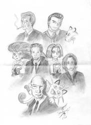 X-Files and Team Rocket by Shadsie