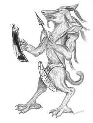 Warrior Beast by Shadsie
