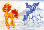 Japanese Elementals-Flame and Wind- Auction :OPEN: