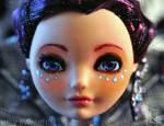 Raven Queen - OOAK doll repaint by MaGeXP