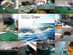 USS Bogue by PascaKanonno