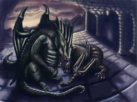 Evening by Dracorigian-Fantasia