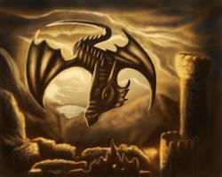 Skydiver by Dracorigian-Fantasia