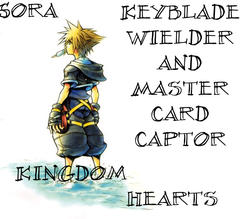 Sora The Keyblade Weilder by crazmo4sho