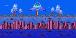 Sonic Mania - Palmtree Panic Act 2 [#1] by ChilliusBower on