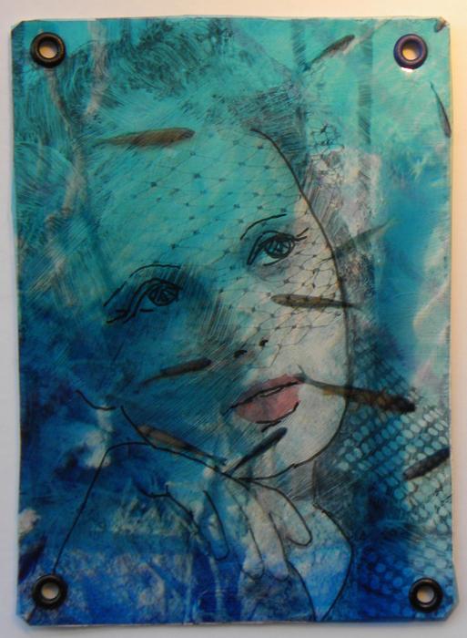 Mermaid 2 ATC by hogret