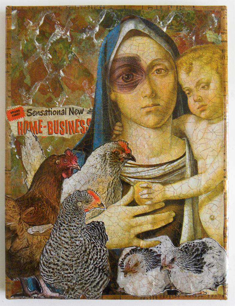 Madonna of the Chickens by hogret