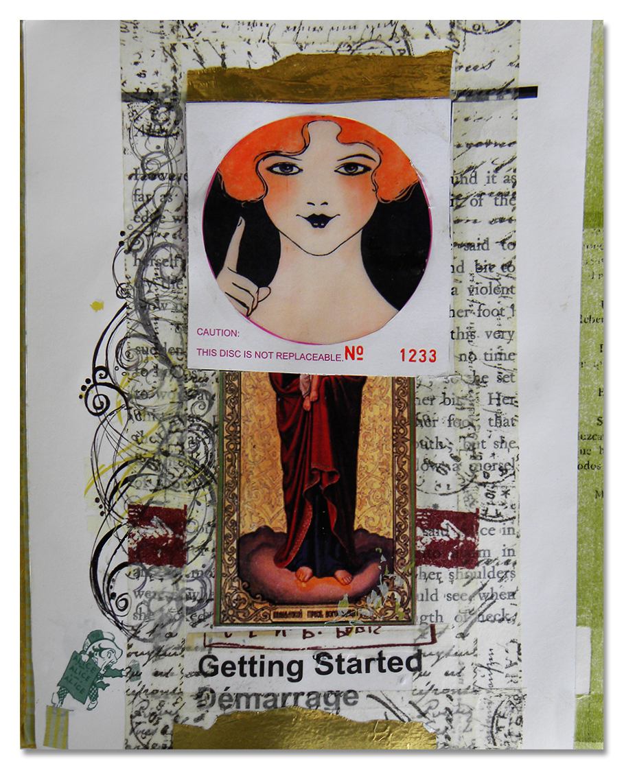 The Madonna of Getting Started by hogret